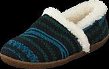 Toms - Slipper Blue green wool