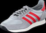 adidas Originals - Zx Racer Grey/Lush Red/Chalk White