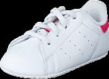 adidas Originals - Stan Smith Crib Ftwr White/Bold Pink