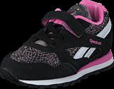 Reebok - Jb Bagheera Runner Black/Shark/Icono Pink/White