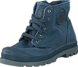 Palladium - Pampa Hi Zipper Kids 53196-404 Dark Slate