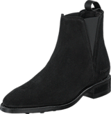 PrimeBoots - Savannah Low Afelpado Black Elastic