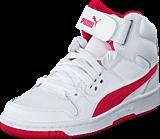 Puma - Puma Rebound Street L Jr White-Rose Red