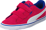Puma - Puma 1948 Vulc V Kids Rose Red-White