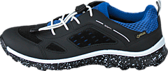 Ecco - Biom Trail Kids Black/ Black/ Cobalt