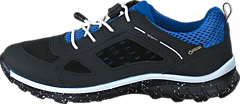 Ecco - Biom Trail Kids Black/ Cobalt