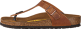 Birkenstock - Gizeh Regular Natural Leather Antique Brown