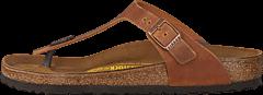 Birkenstock - Gizeh Regular Natural Leather Antique Brown