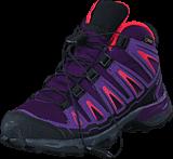 Salomon - X-ULTRA MID GTX J Cpurple/Rain Purple/Madder Pin