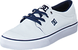 DC Shoes - Dc Kids Trase Tx Shoe White/Navy