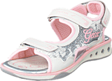 Geox - Sandal Jocker Girl White/Pink