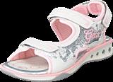 Geox - Sandal Jocker Girl White/Pink