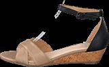 Bianco - Low Wedge Sandal Beige