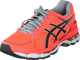 Asics - T597N-0697 Gel-Kayano 22 Flashcoral/Carbon/Silvergrey