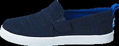 Toms - Avlon Slip-On Navy Slubby Linen
