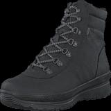 Ecco - 243063 Hill Black/Black/Silver Metallic