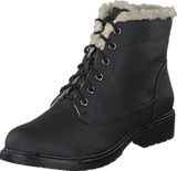 Bianco - Laced Up Warm Boot Black