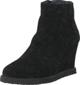 Angulus - Wedge boot with zipper Black/ black