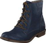 Mustang - 1157534 Women's Lace-Up Bootie Dark Blue