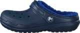 Crocs - Classic Lined Clog K Navy/Cerulean Blue