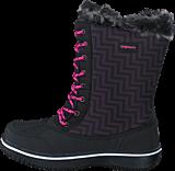 Bagheera - Snowy Waterproof Black/Cerise