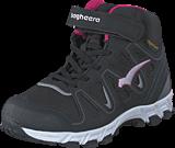 Bagheera - Nova Waterproof Black/Cerise