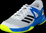 adidas Sport Performance - Court Stabil J Ftwr White/Black/Shock Blue