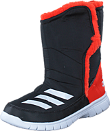 adidas Sport Performance - Lumilumi K Core Black/White/Bold Orange