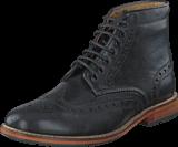 Lyle&Scott - Brogue Boot Leather 572 True Black