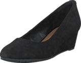 Clarks - Vendra Bloom Black Suede