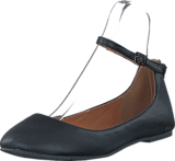 Bianco - Ankle Strap Ballerina JFM17 10 Black