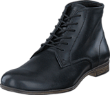 Sneaky Steve - Markham Mid Leather BLACK