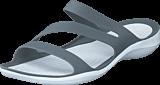 Crocs - Swiftwater Sandal W Smoke/White