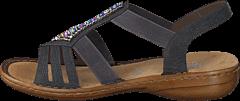 Rieker - 608S1-45 Basalt