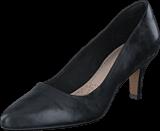 Clarks - Isidora Faye Black Leather