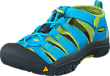 Keen - Newport H2 Children Hawaiian Blue/Green Glow