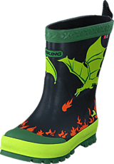 Viking - Drage Black/Lime