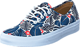 Vans - UA Authentic classic white/french blue
