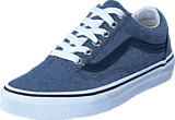 Vans - UA Old Skool chambray/blue