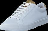 Jim Rickey - Chop Womens Leather White/Gold