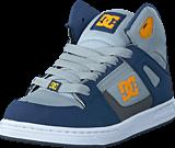 DC Shoes - Rebound SE/Glow in the dark Blue/Grey/Blue