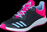 adidas Sport Performance - Fortarun K Dark Grey/Easy Blue S17/Shock