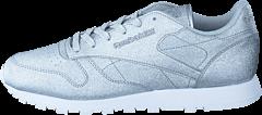 Reebok Classic - CL Lthr Syn Diamond-Silver Met/Snow Grey/W
