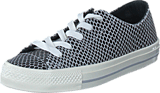 Converse - All Star Gemma Hi Snake Leath Black