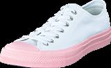 Converse - Chuck Taylor All Star II Ox White/ Vapor Pink