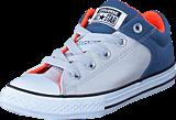 Converse - CTAS High Street Slip Mouse/ Blue Coast/ White