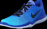 Nike - W Flex Supreme Tr 5 Fade Medium Blue/Black-Still Blue