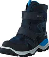Ecco - 710223 Snow Mountain Black/Marine/Poseidon