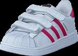 adidas Originals - Superstar Cf I Ftwr White/Bold Pink/Ftwr Whit