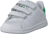 adidas Originals - Stan Smith Cf I Ftwr White/Ftwr White/Green